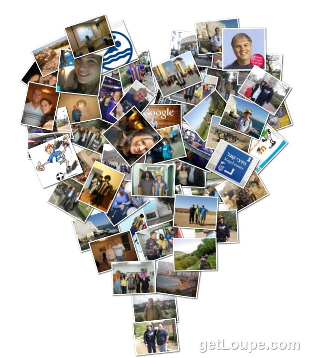 example collage who am i mini