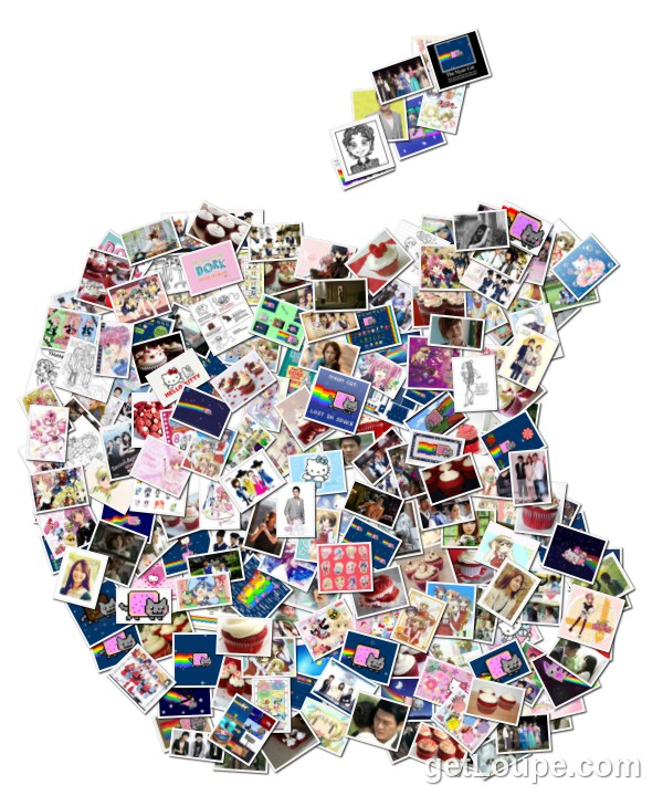 My Personal Apple Collage | Loupe Collage | Loupe