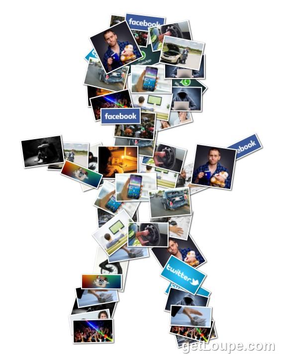 materia administracion del tiempo loupe collage loupe