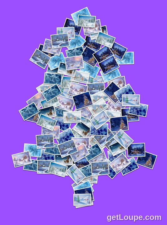 Ялинка Made using Loupe - a fun & fast way to make cool creations with your photos.
