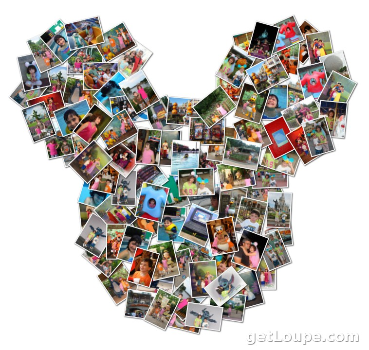 DIsney Photo Collage | Loupe Collage | Loupe