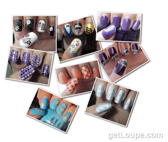 January'13@Nomorenailpolishmum My Nails in January 2013