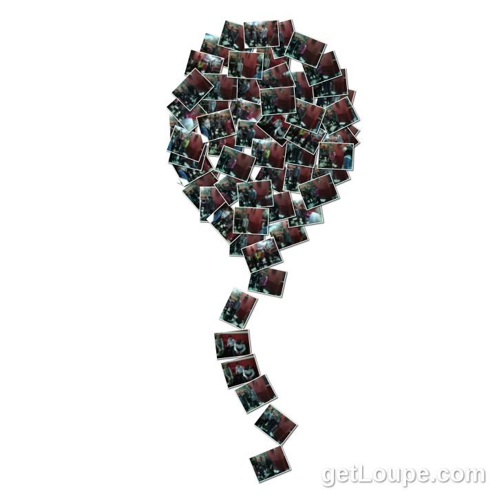 Новий рік 5 Б клас (дійство з кульками)