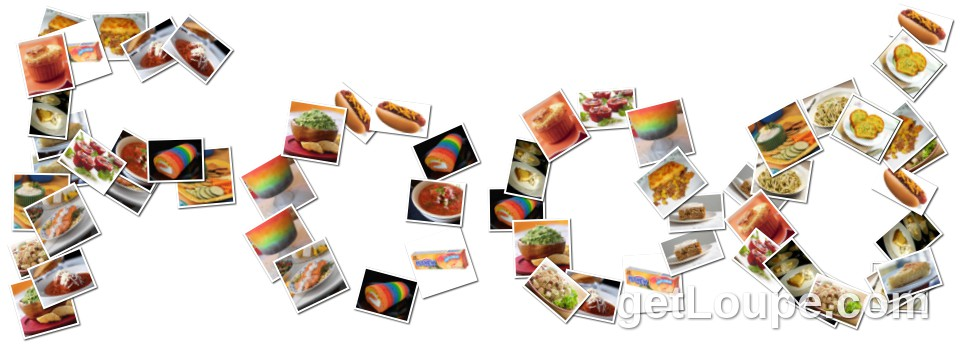 1970's food | Loupe Collage | Loupe