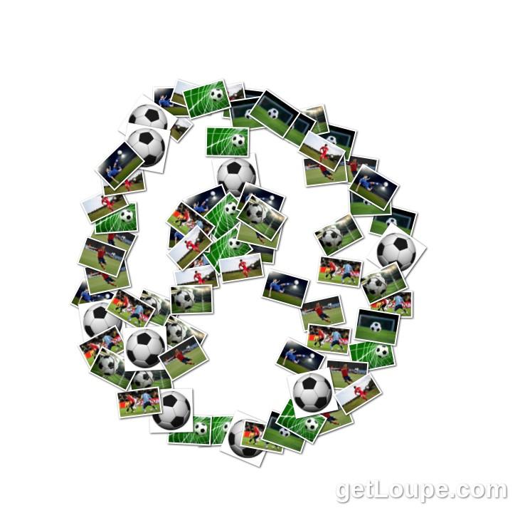 Soccer Ball Concrete Poem 78