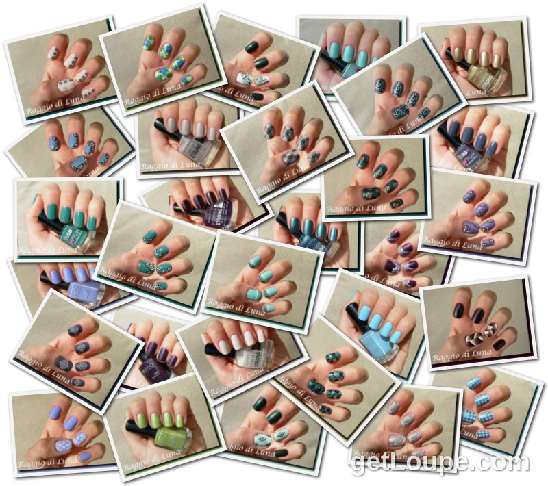 Raggio di Luna manicures collage June 2013