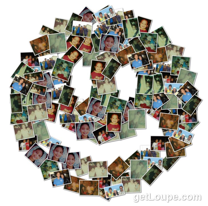 Por los 15 a os de mi bb loupe collage loupe - Como hacer un collage de fotos a mano ...