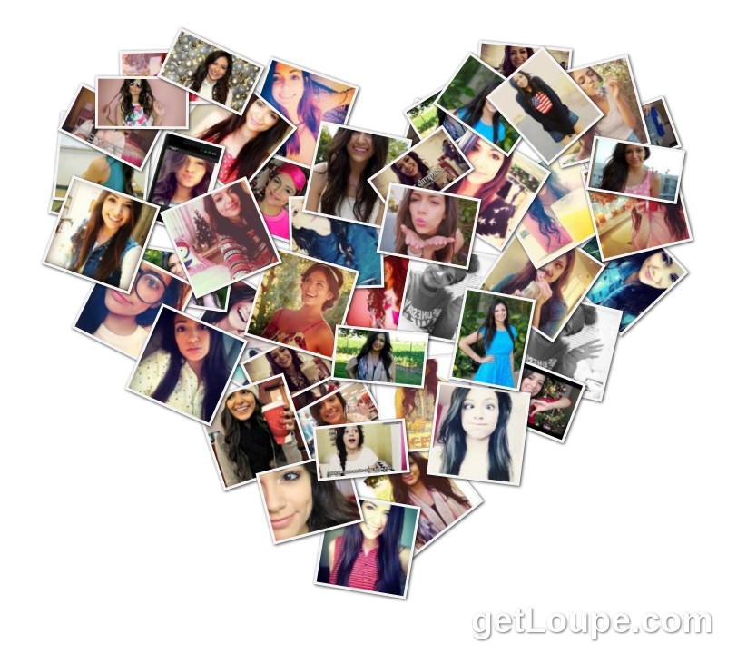 Bethany Mota Collage