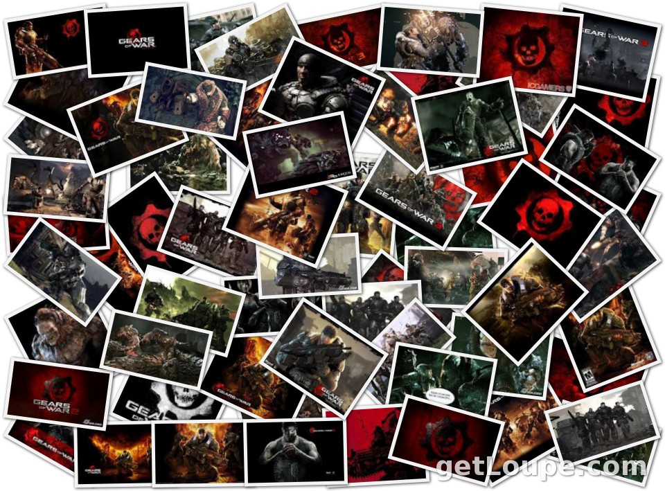 GEARS OF WAR | Loupe Collage | Loupe