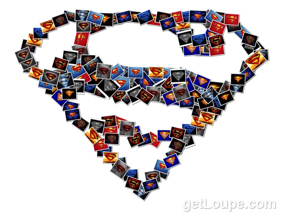 Superman logo!! | Loupe Collage | Loupe