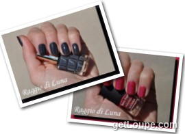 Raggio di Luna manicures collage May 2016 nail polishes