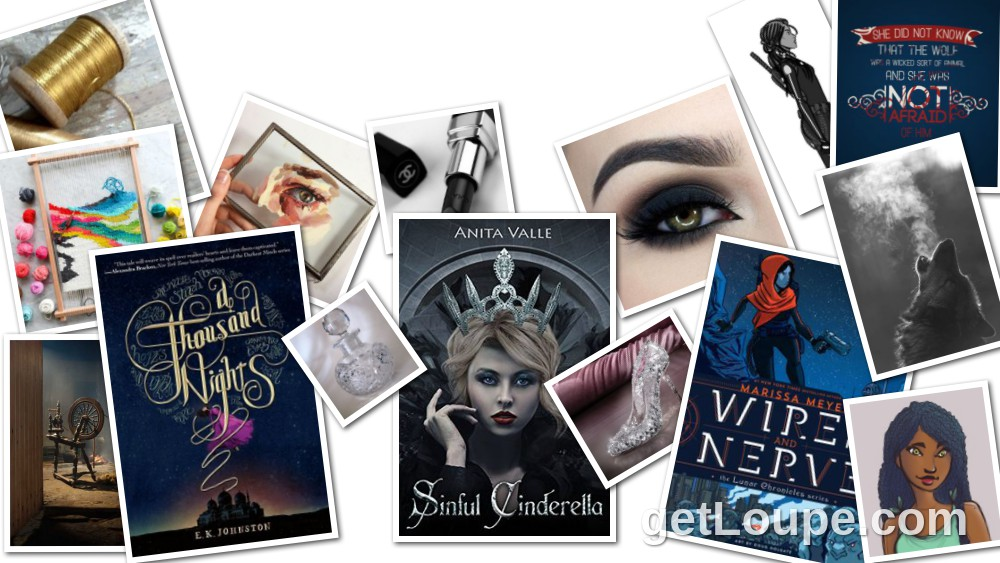 Retellings A Thousand Nights, Sinful Cinderella, Wires and Nerve