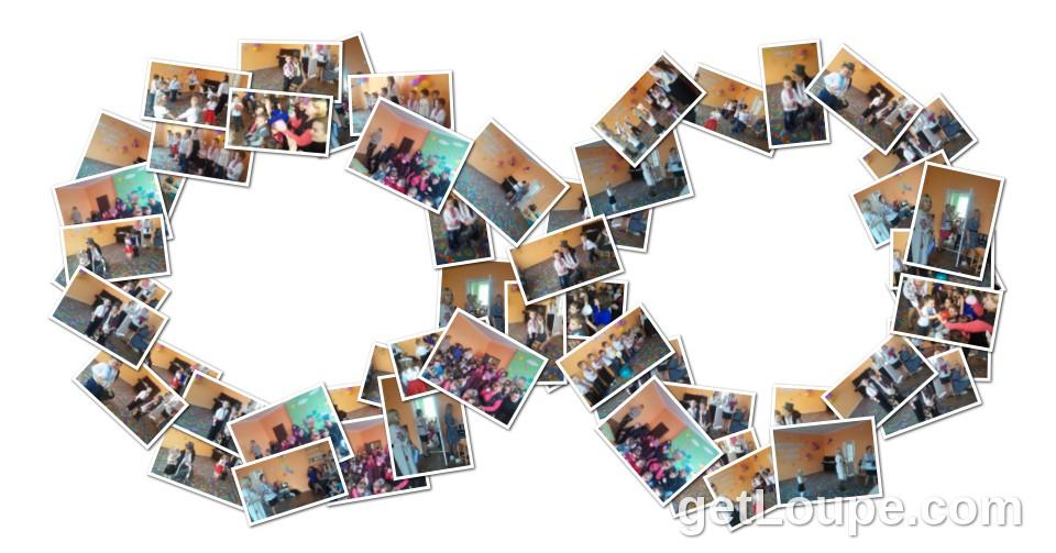 Свято 8 березня в ДНЗ Made using Loupe - a fun & fast way to make cool creations with your photos.