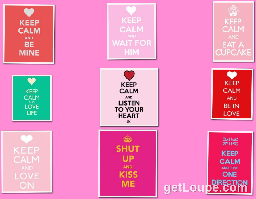 love keep clam pink with love keep clams