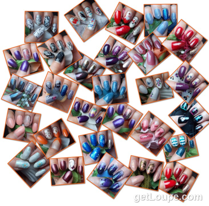 September=December 2015 all 28 Manicures done in four months