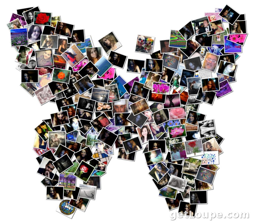Butterfly drawings digital collage sheet no 010 by weirdtales