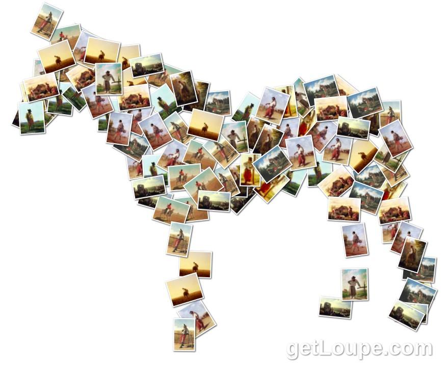Blanes loupe collage loupe - Como hacer un collage de fotos a mano ...
