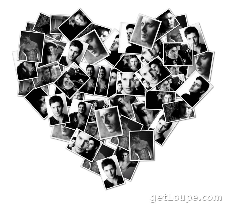 Jensen Ackles collage