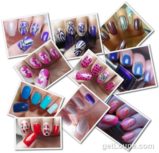 February '13@ nomorenailpolishmum February 2013 Nails